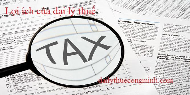 Lợi ích của Đại lý thuế