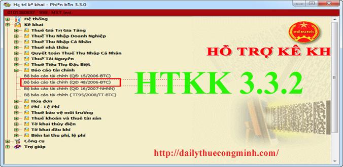 HTKK 3.3.2