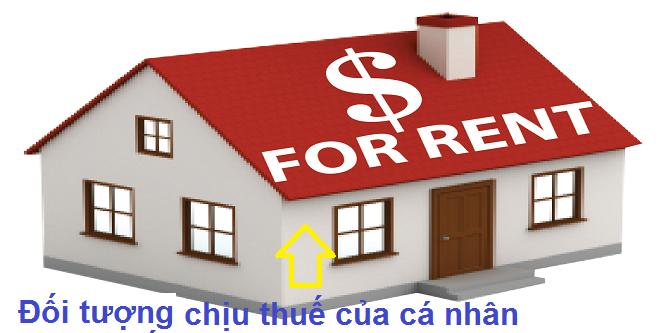 Đối tượng chịu thuế trong hoạt động cho thuê tài sản