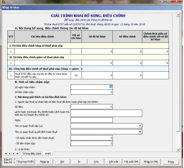 Hướng dẫn lập mẫu 02/GTGT theo phần mềm HTKK mới nhất