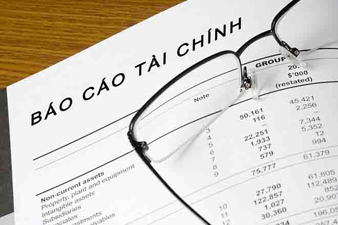 Báo cáo tài chính năm 2015 cần nộp những gì