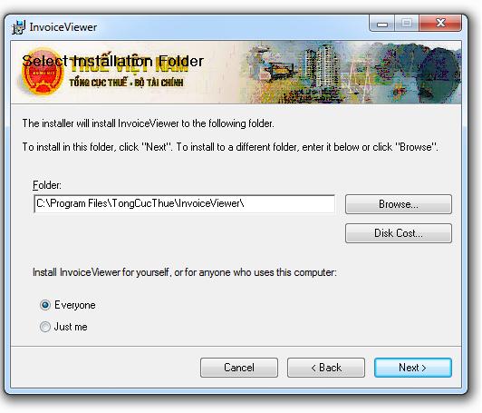 Phần mềm Toolview - Ứng dụng xem hóa đơn xác thực