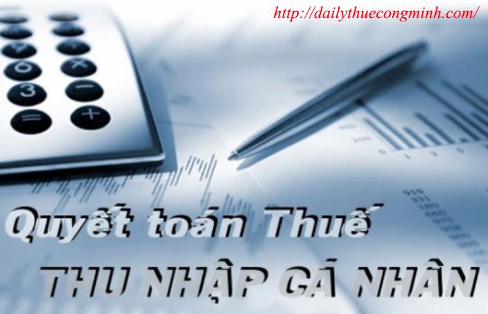 Đối tượng quyết toán thuế TNCN 2015