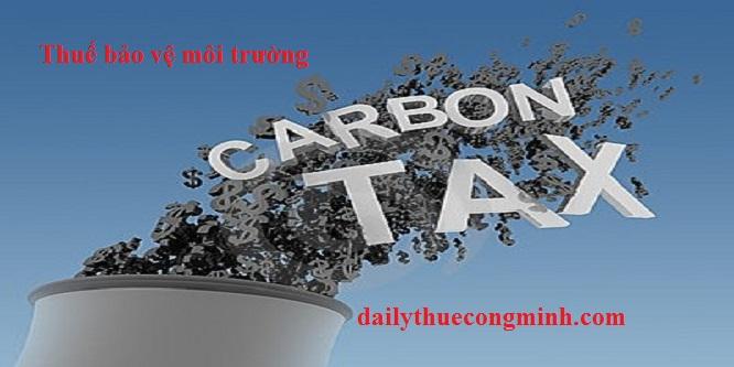 Quy định nộp thuế bảo vệ môi trường