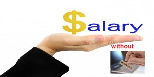 Salary expense without insurance contribution