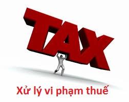 Quyết định xử phạt vi phạm hành chính về thuế