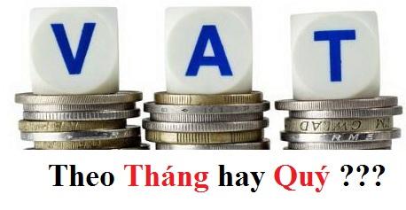 Cách xác định kỳ kê khai thuế GTGT (Giá trị gia tăng)