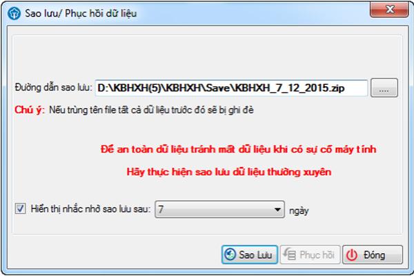Cách cập nhật chương trình KBHXH đơn giản nhất
