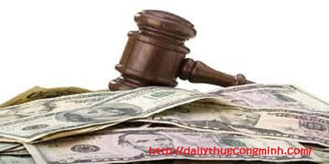 Tiền phạt vi phạm hợp đồng kinh tế có được tính vào chi phí hợp lý