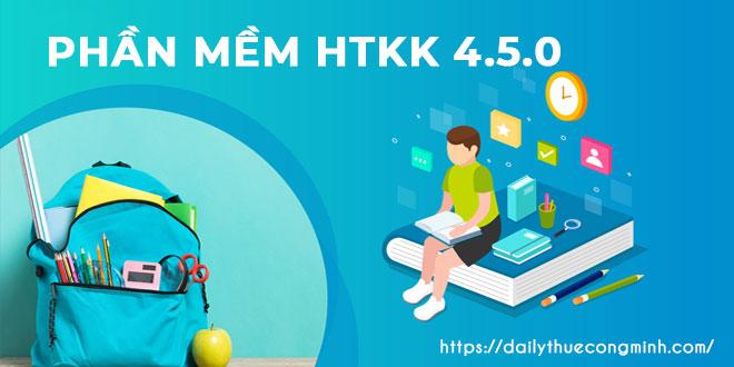 Phần mềm HTKK 4.5.0 mới nhất phiên bản năm 2021